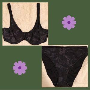 Victoria Secret bra and panty set.